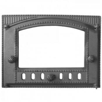 Дверка ДТК-2С  каминная под стекло 375*300*40 мм