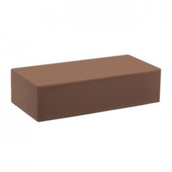 Кирпич печной Темный шоколад прямой