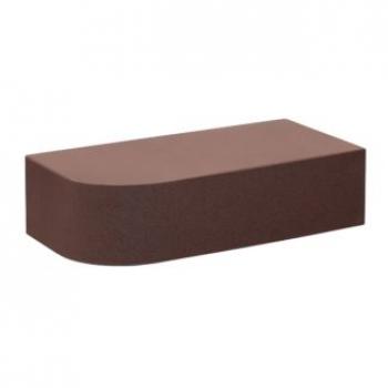 Кирпич печной Темный шоколад радиальный